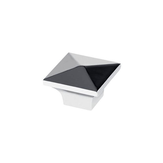 Richelieu Contemporary Metal Knob - 32-mm - Chrome - 25-Pack