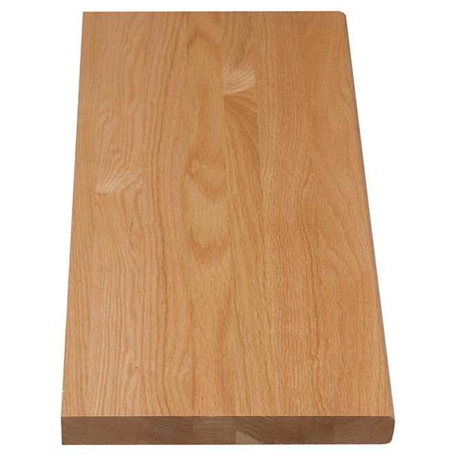 "Oak Stair Tread - 36"" - Natural"