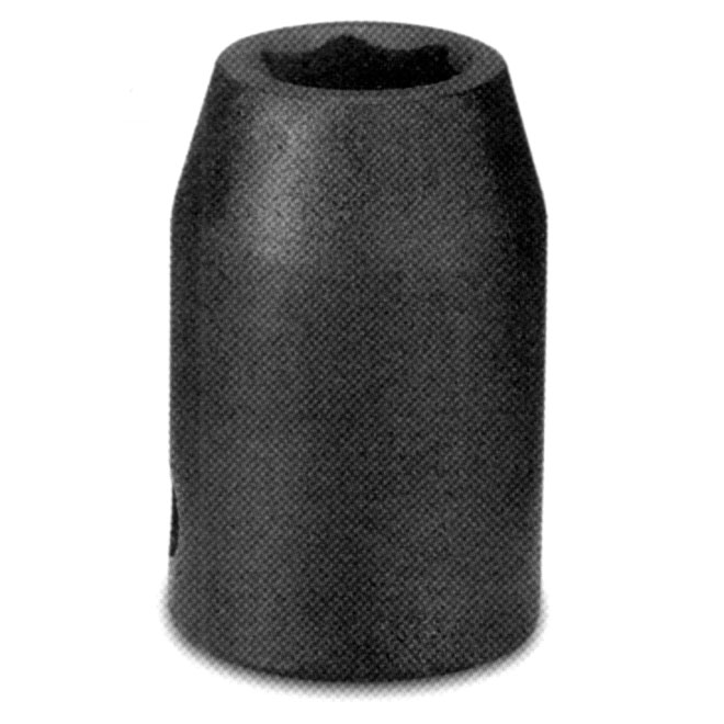 """Douille régulière à percussion, acier, 1/2"""" x 9 mm"""