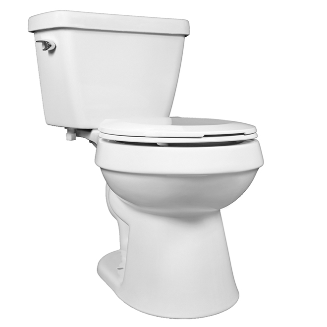 Pleasant 2 Piece Round Toilet 4 8 L White Mt 39201 Reno Depot Gamerscity Chair Design For Home Gamerscityorg