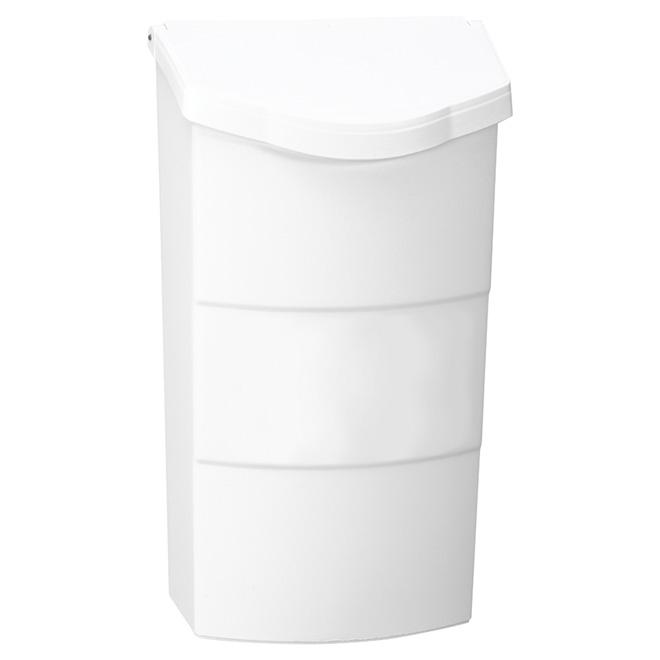 "Mailbox - Vertical - 4"" x 8"" x 14"" - Plastic - White"