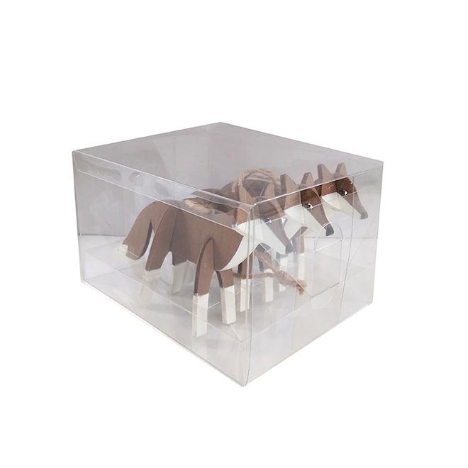 Ornements Holiday Living, renard en 3D, paquet de 3