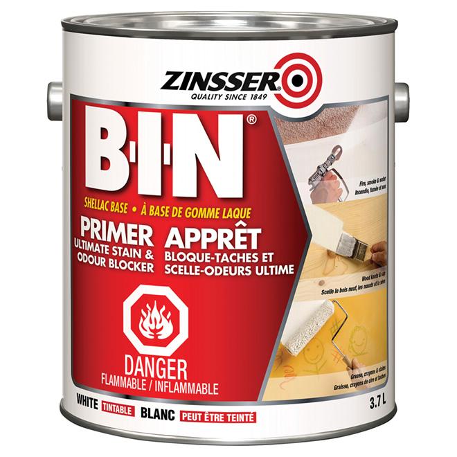 B-I-N» Primer-sealer stain killer
