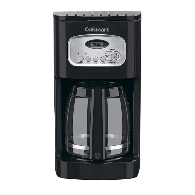 Cuisinart Programmable Coffee Maker - 12 Cups - Glass - Black