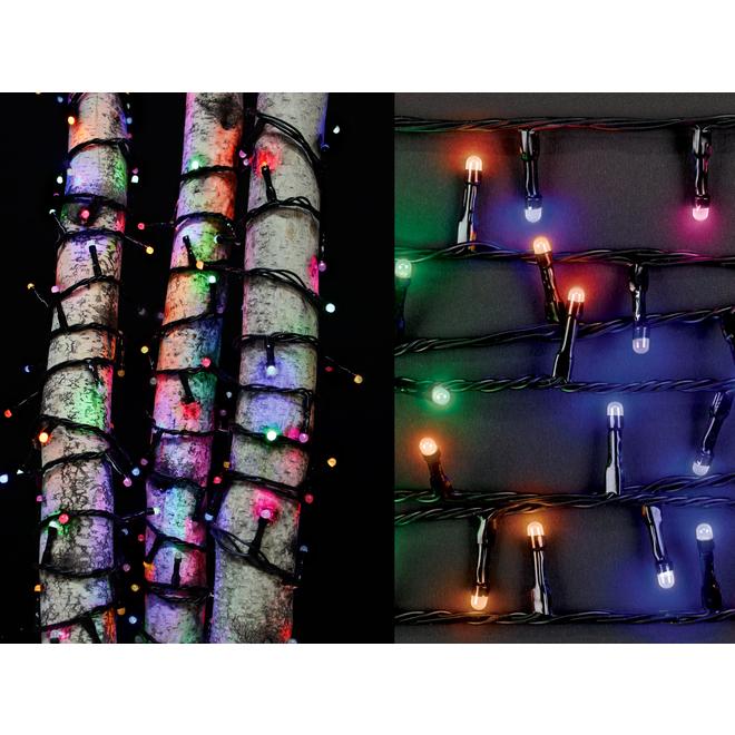 Holiday Living Light Set - 200 LED F5 Lights - Multicolour