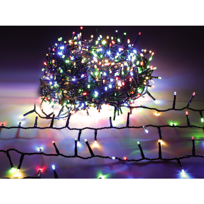 Holiday Living Light Set - 500 LED Lights - Multicolour