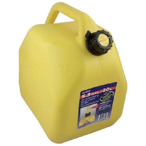 Specter Diesel Gasoline Can - Plastic - Yellow