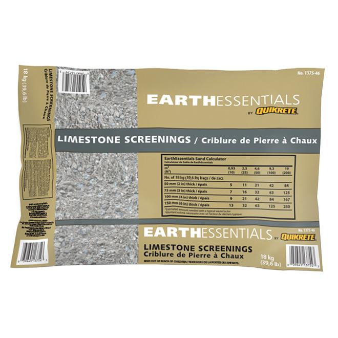 Criblure de pierre, Earthessential, 18 Kg, beige