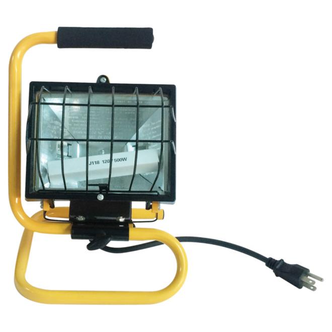 Lampe de travail portative halogène, 500 W, 13 3/8 po