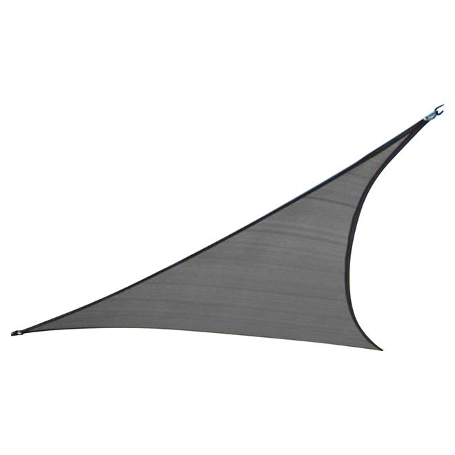 Triangle Shade Sail - Dark Grey - 9.8'