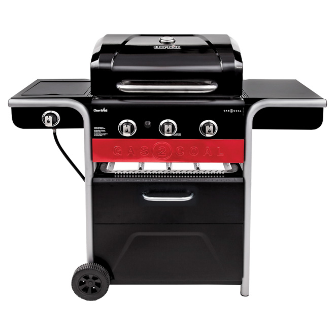 Barbecue hybride au gaz et au charbon, 52000BTU, 550po²