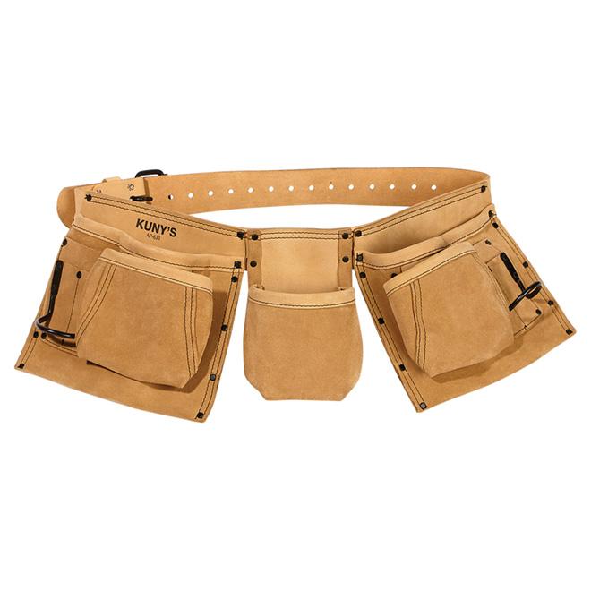 Carpenter Apron - Leather - 5 Pockets - Hammer holders