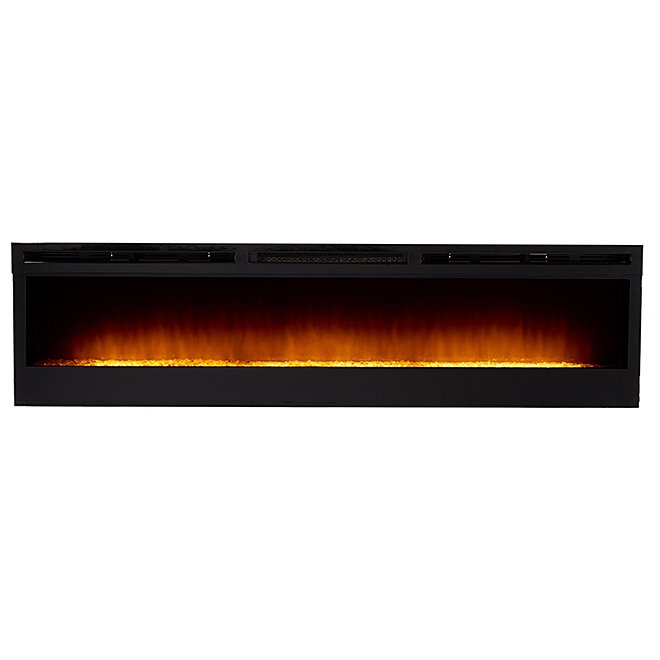 Foyer électrique Galveston, 1 230 W/2 430 W, noir