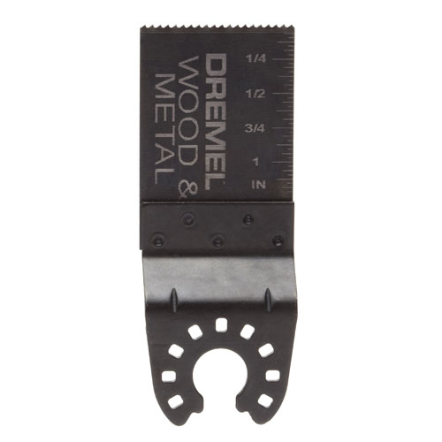 Wood and metal blade
