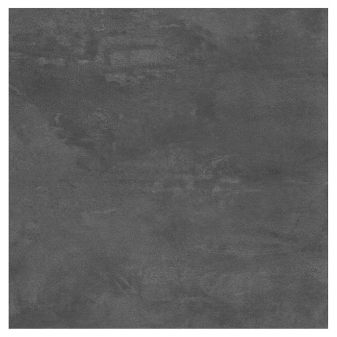 Tuiles de vinyle pour plancher, 12'' x 24'', ardoise, 24/pqt