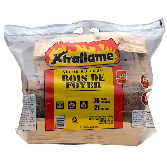 Xtraflame(R) Firewood - Hardwood - 0.75 cu. ft.
