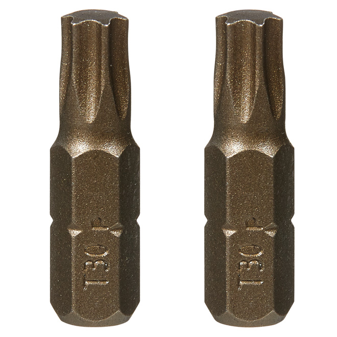 """Extra-Hard"" Torx Screwdriver Bit- #30 -1"" -2-Pack"