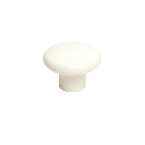 Richelieu Cabinet Knob - White - Plastic