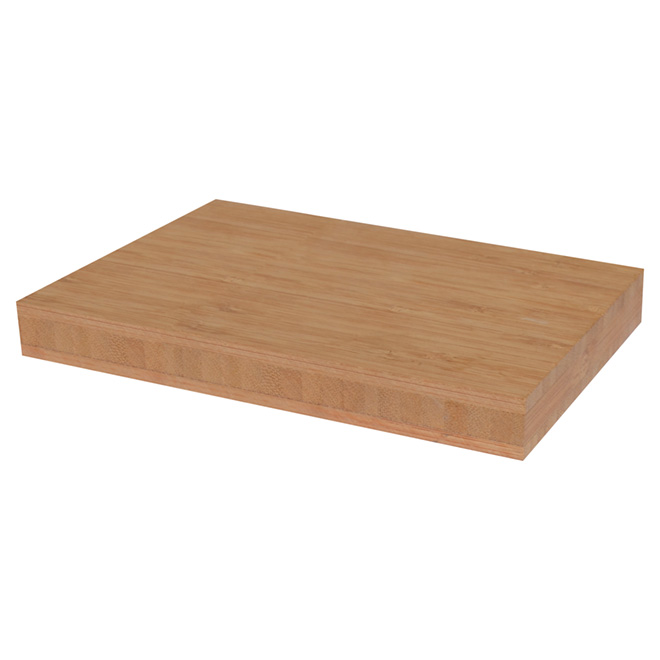 "Laminated Bamboo Plank - 25.5"" x 72"" x 1.5"""