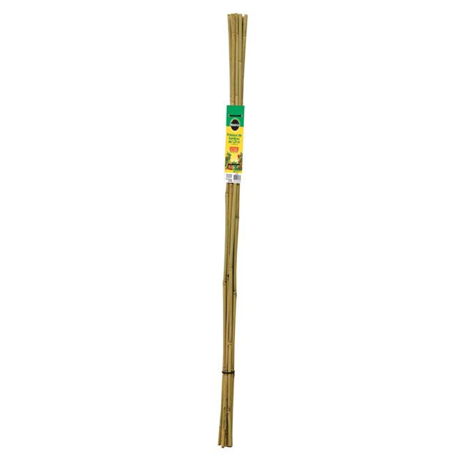 Tuteur en bambou, 4', paquet de 12