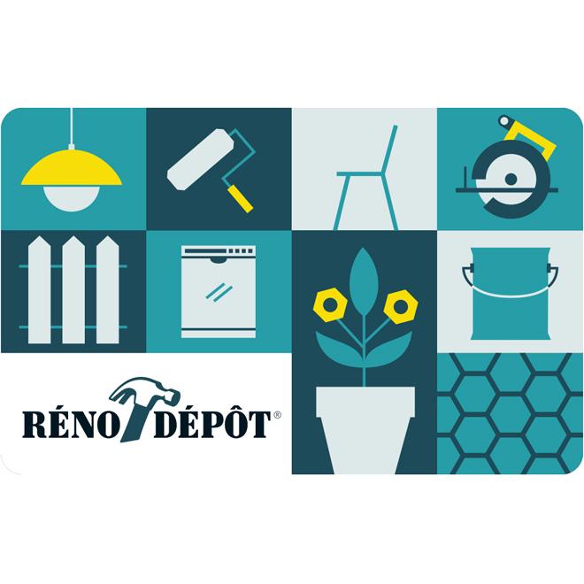 Reno-Depot Bilingual Gift Card - $100
