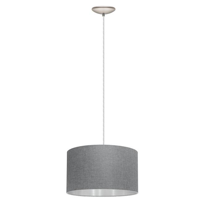 Pendant Light with Shade - Grey