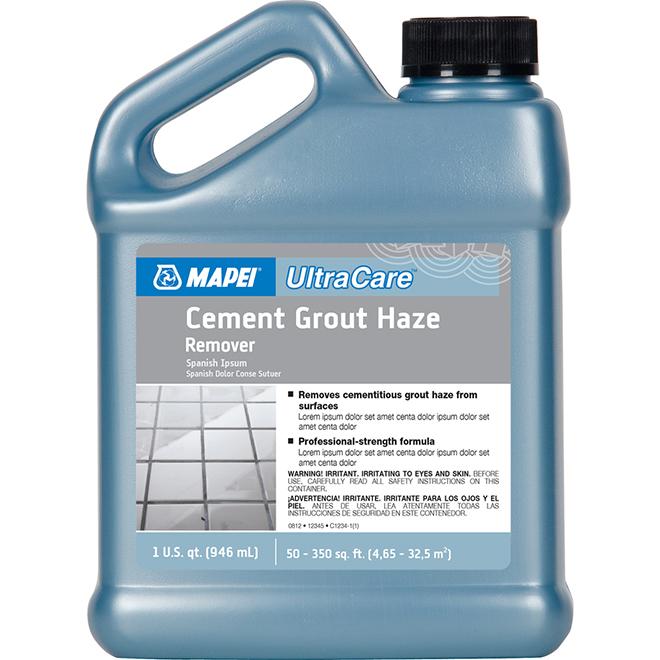 Mapei Cement Grout Haze Remover - 1 Quart