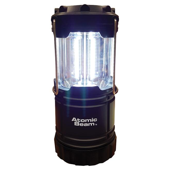 Lanterne DEL, 360 degrés, noir