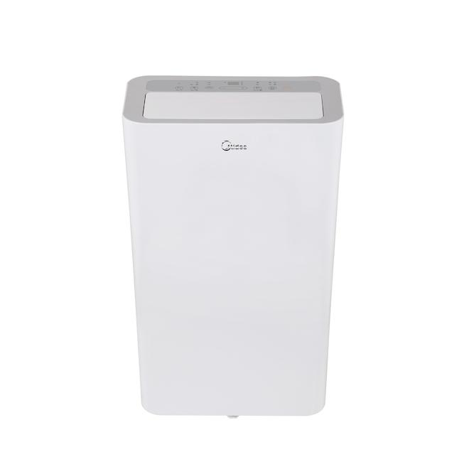 Midea Portable Smart Air Conditioner - 300 Square Feet - White - Remote Control - Quiet - 12000 BTU