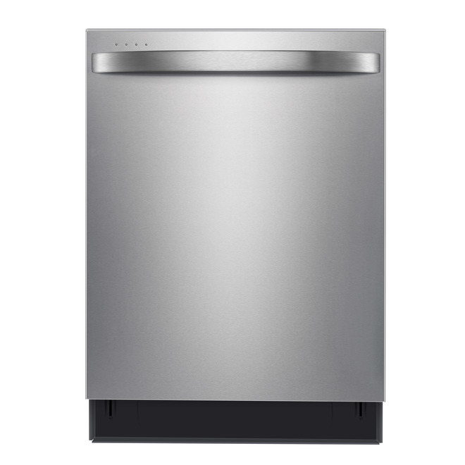 Midea Built-In Extended Dry Dishwasher - 24-in - 45-dBA - Stainless Steel