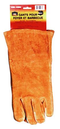 Kel Kem Fireplace Gloves - Brown