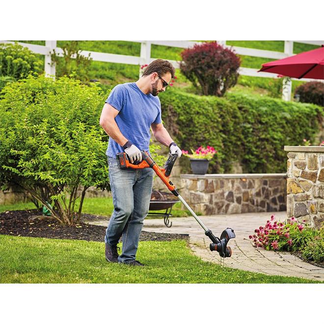 black decker coupe bordure coupe herbe sans fil 13 quot 40 v lst140c r 233 no d 233 p 244 t