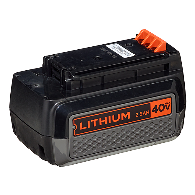 Batterie au lithium-ion 40 V MAX, 2,5 A