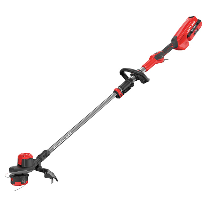 Cordless Edge Trimmer - 60 V - Red and Black