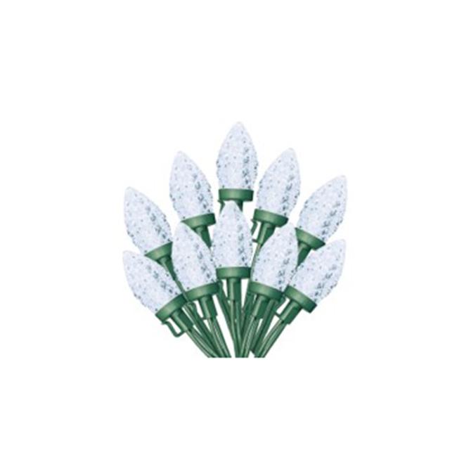 Sylvania Light Set - 100 C9 LED Lights - Cool White