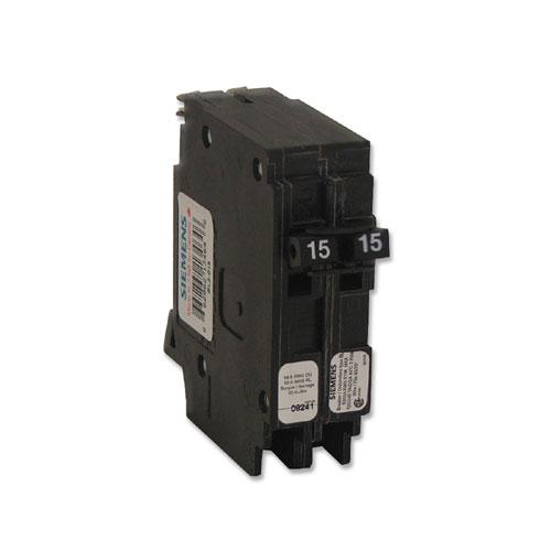 Disjoncteur «Blue-Line» 120/140 VAC 15 A 2 pôles