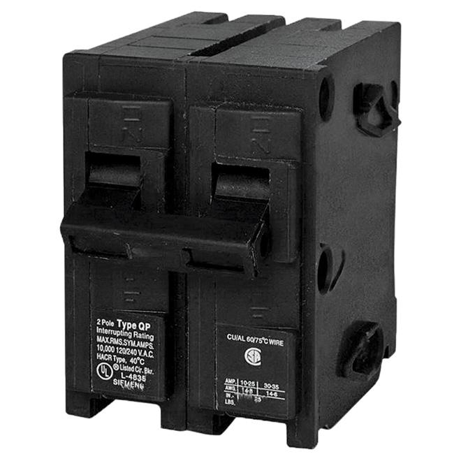 120/240 VAC 100 A Circuit Breaker 2 Poles Plug-In