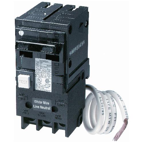 120/240 VAC 20 A Circuit Breaker 2 Poles Plug-In