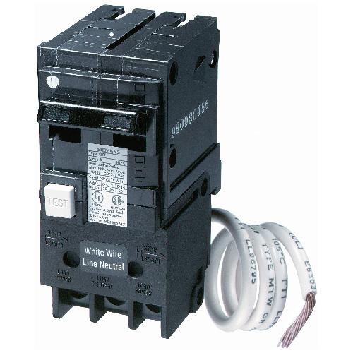Disjoncteur enfichable 120/140 VAC 60 A 2 pôles