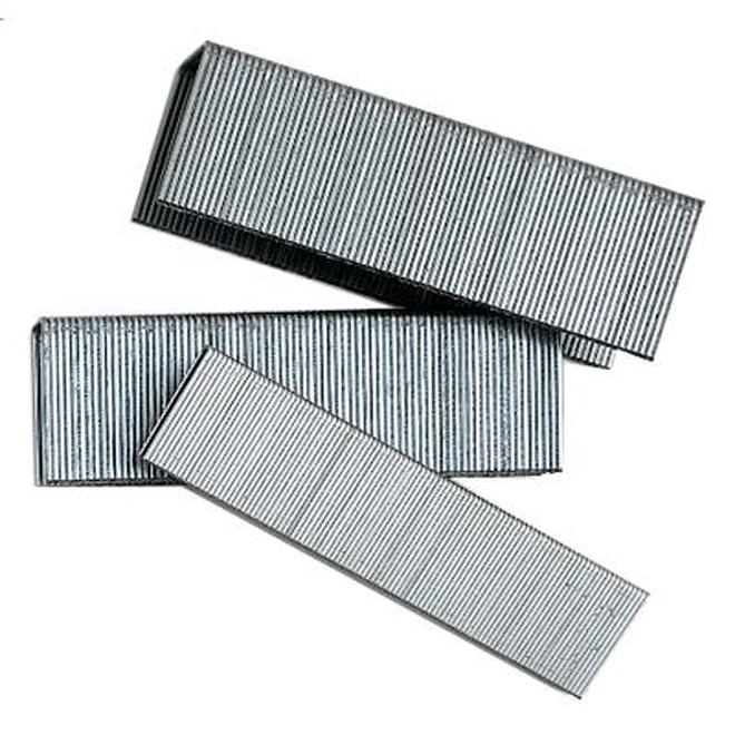 """Agrafes à plancher, galvanisé 15CA, 2"""", Bte/5000"""