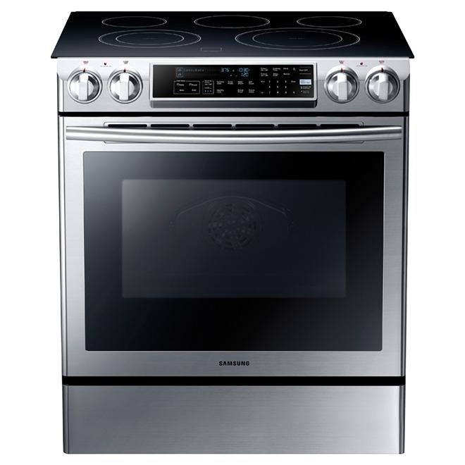 Cuisinière électrique encastrable de 5,8 pi³, inox