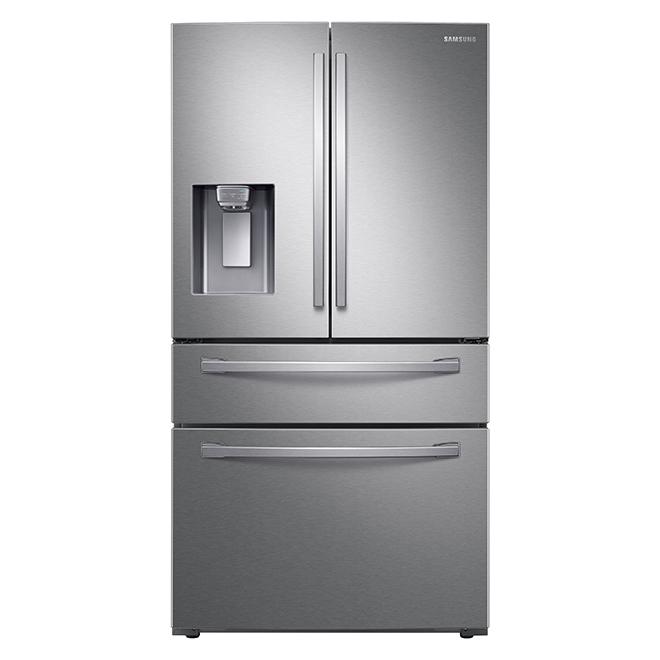 "Premium Refrigerator - 4 Doors - 36"" - 28 cu. ft. - SS"