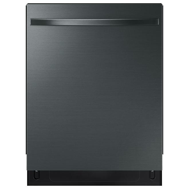 Samsung Dishwasher with StormWash - 48 dB - Black Stainless Steel
