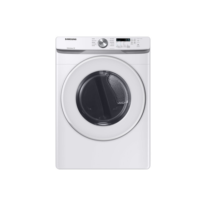 Samsung Electric Dryer with Sensor Dry - 27-in - 7.5-cu ft - White