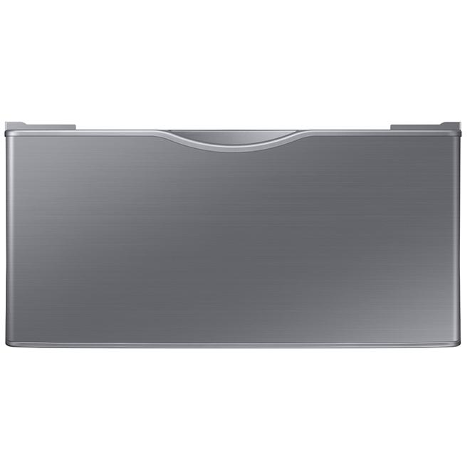 Samsung - Pedestal - Washer/Dryer - 27'' - Platinum