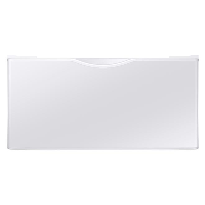 Samsung - Pedestal - Washer/Dryer - 27'' - White