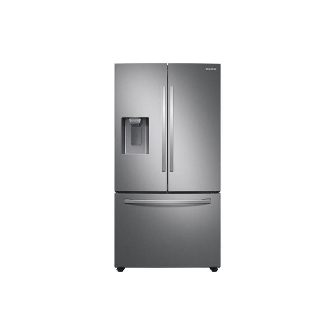Samsung Refrigerator - 3-Door French Door, 27 cu. ft. - Stainless Steel
