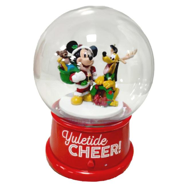 Boule à neige Disney Mickey-Pluto musical