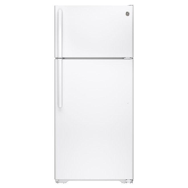 """Réfrigérateur congélateur supérieur 28"""", 15,5 pi³ blanc"""