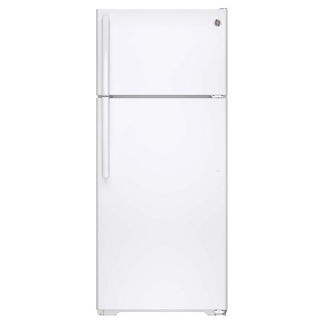 """Réfrigérateur congélateur supérieur 28"""", 17,5 pi³ blanc"""